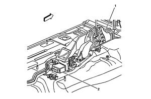 Cadillac Cts Module Airbag Location